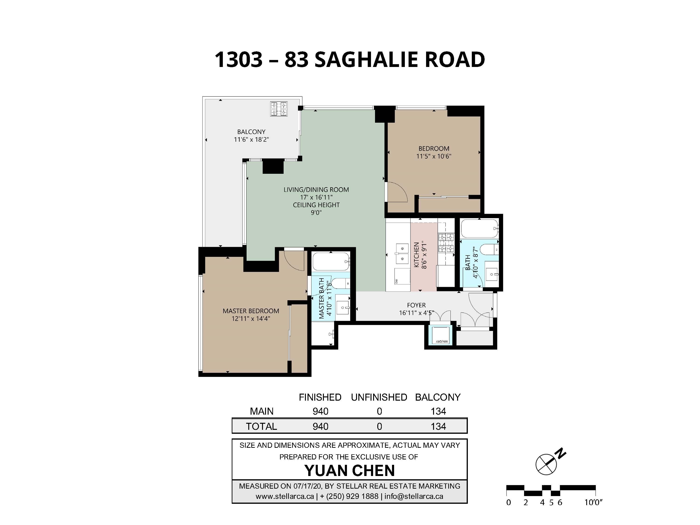 1303 - 83 Saghalie Rd