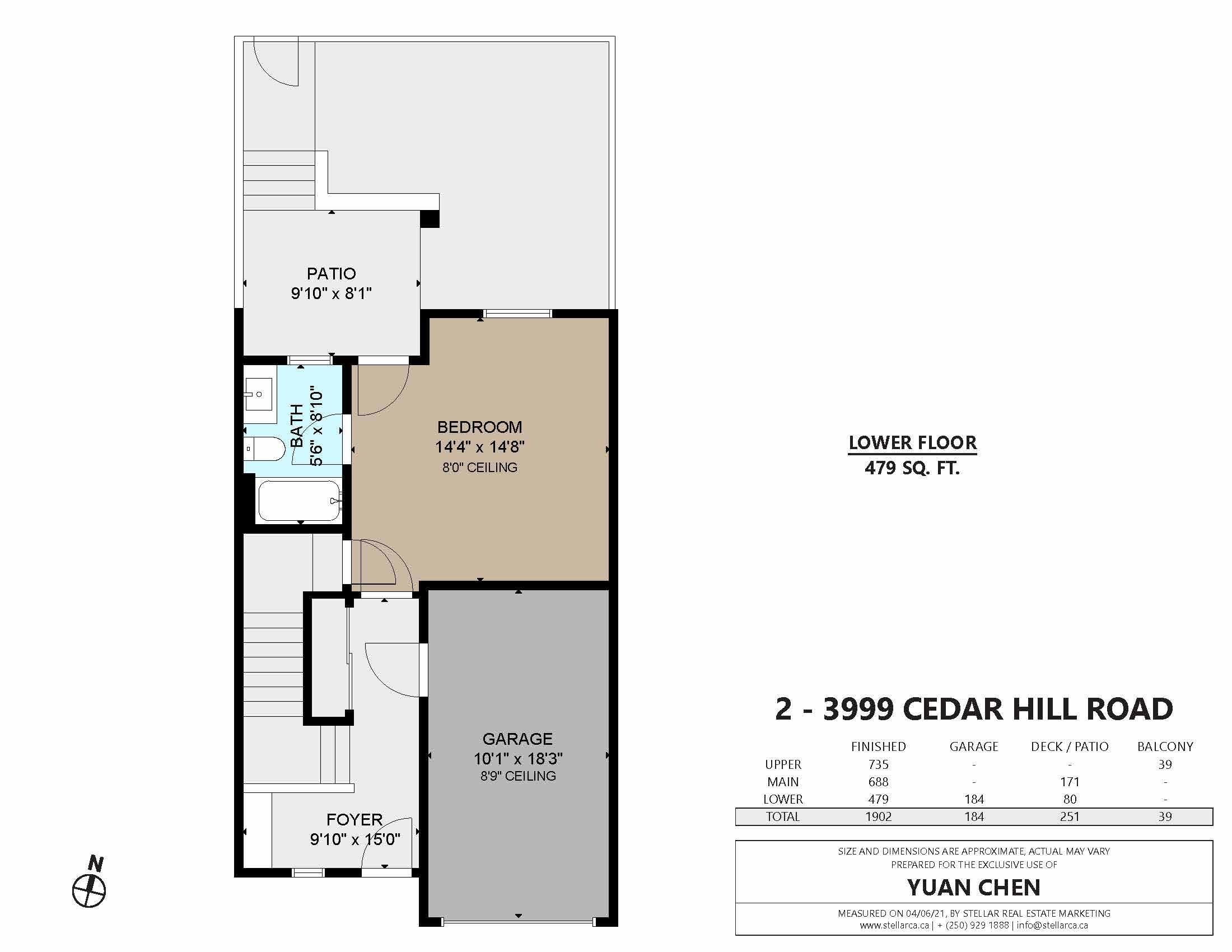 2 3999 Cedar Hill Rd